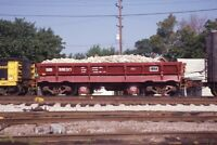 Unidentified Railroad Freight Train Slate? Hopper Original 1985 Photo Slide