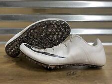 Nike Zoom Superfly Elite Track Spikes White Phantom Gray Black SZ ( 835996-001 )