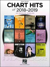 Chart Hits of 2018-2019 Easy Guitar Chord Melody Songbook SAME DAY DISPATCH