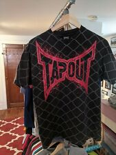 Vintage Tapout T Shirt Mma Made In USA Men's M Chain Fence