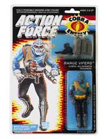 Action Force / GI Joe Range Vipers Cobra Wilderness Troopers MOC Carded Custom