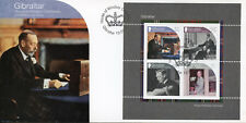Gibraltar 2017 FDC House of Windsor Queen Elizabeth II 4v M/S Cover Stamps