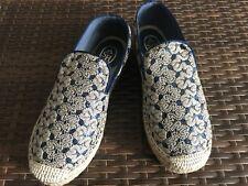 Ash XEM espadrilles gold/blue women's Size 36EU BRAND NEW