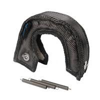 Hiwowsport Carbon Fiber Turbocharger Heat Shield Blanket For T25 T28 GT25 Black