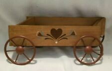 Great Wall Hanging Home Interior Wagon with Heart Design Planter