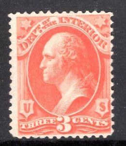 #O98 Mint, No Gum, F/VF Centering, Scott Catalog Value: $?