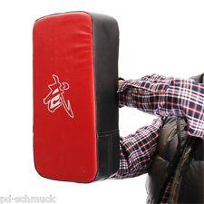 Rot Schlagpolster Schlagkissen Handpratze Taekwondo Sport Kick Pad 40x20x10cm FL