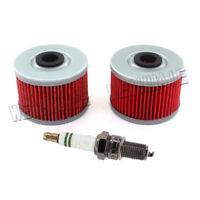 Tune Up Kit Oil Filter Spark Plug For Kawasaki KFX450R KFX 450R 2008 2009-2014