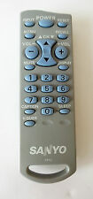 Sanyo FXTG OEM TV Remote Control Tested and Working DS13204 DS13330