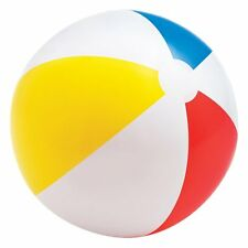 "20"" Plastic Traditional Inflatable Beach Ball Swimming Pool Poolside Party Favor"