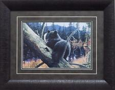 Liz Mitten Ryan Resting Place - Bear Print Framed 19 x 15