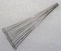 20Stück 15cm Drahtstäbe mit Öse,Spinnerbau,Spinner,Basteldraht,Federstahldraht