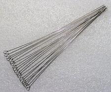 20Stück 20cm Drahtstäbe mit Öse,Spinnerbau,Spinner,Basteldraht,Federstahldraht