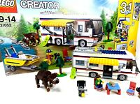 Lego Creator Vacation Getaways (31052) | Original Box + Manuals | Retired
