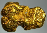 Premium Quality Alaskan Natural Placer Gold Nugget .844 grams Free Shipping!