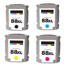 4 Pack 88XL Ink Cartridges For HP Officejet Pro L7500 L7550 L7580 L7590 L7600