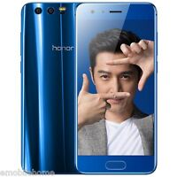 "Huawei Honor 9 4G Smartphone 5.15"" Android 7.0 Kirin 960 4GB+64GB 20MP 3XCameras"