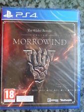 Elder Scrolls Online Morrowind PS4 Nuevo Gran Rol táctico PAL España In english