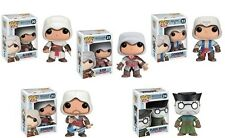 Assassin's Creed Funko POP! Vinyl Figures Set of 5 - Connor, Plague Doctor, Etc