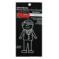 Family Car Dad Window Stickers Decals Vinyl Figure Decoration