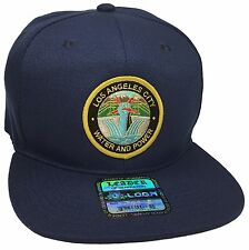 City Of Los Angeles Water And Power Hat Color Navy Blue DWP Hat Snapback