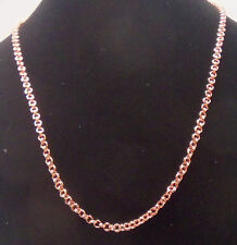 "NEW PURE Copper Double Round Chain link 24"" Necklace Mod#cn003"