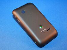Sony Xperia Tipo ST21i Akku Deckel Tasten Back Cover Schale Original Neu schwarz