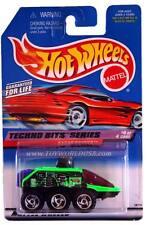 1998 Hot Wheels #692 Techno Bits Series #4 Radar Ranger (red car card)