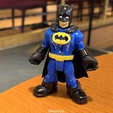 Fisher-Price Imaginext DC Super Friends blue batman bat man Figure Toy XMAS GIFT
