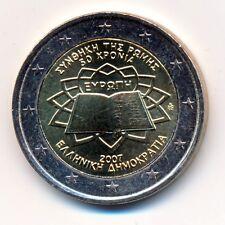 GRECIA moneda conmemorativa 2007 ROMANOS Contratos UNZ UNCIRCULATED