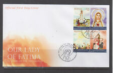 Philippine Stamps 2017 Our Lady of Fatima Appartions 100 Years FDC