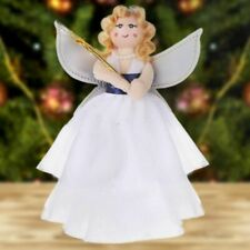 Christmas Tree Topper Cloth Angel Mini Star Ornaments Xmas Party Home Decoration