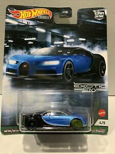 Hot Wheels '16 Bugatti Chiron [Exotic Envy] Premium New XHTF SEALED UNOPENED