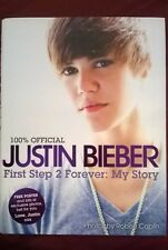 Justin Bieber Book First Step 2 Forever Music Pop Icon First Edition My Story