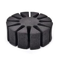 6 Bogenschießen Schaum Runde Rack Pfeilhalter - 12 Pfeile Separator Köcher