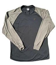 Vintage 90s white tag Nike Fit Long sleeve shirt-XL
