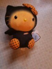 Ty Sanrio Hello Kitty Halloween Plush Stuffed Animal Doll NWT