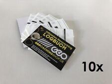 10 x Geocaching Logbuch - Filmdose (Geocache, Filmdosen)