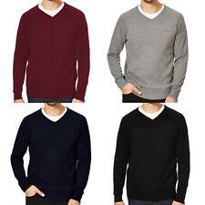 Slazenger Seve Mens Plain V Neck Golf Pullover Jumper Knit Sweater