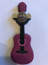 Hard Rock Cafe Macau Hotel Soft Guitar Magnet RARE