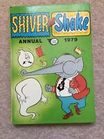 Shiver and Shake Annual 1979 Fleetway comic book - excellent condition