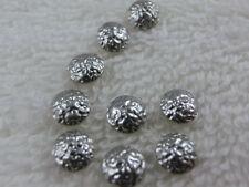 360 Hotfix Nailhead  gehämmert 2mm Silber