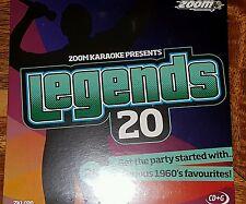 ZOOM KARAOKE CDG     Legends volume 20    BILLY FURY   25   TOP TRACKS