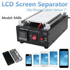 7'' Built-in Vacuum Pump Mobile Phone LCD Glass Screen Separator Repair Machine