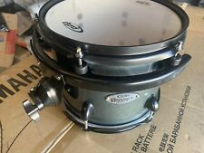 Pdp Double Drive 10 X 8 Drum Tom Gun Metal Gray With Black Hardware