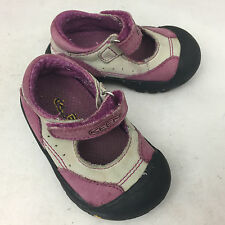 KEEN Lavender & Stone Leather Mary Janes - Girls' Size 4