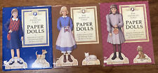 New ListingThe American Girls Paper Dolls 3 Complete Paper Doll Kitschy