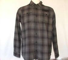 "Flannel Shirt Metal Mulisha Generous Fit Medium ""Route 1"" -BNWT RRP $79.95"