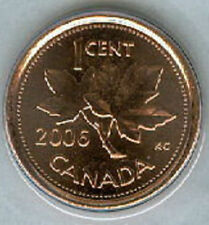 2006-P Penny 1 One Cent Canada '06 BU Coin Canadian Magnetic LOT of 10 SCARCE