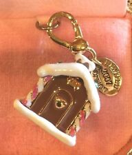 2007 JUICY COUTURE LIMITED ED GINGERBREAD HOUSE CHARM YJRU1460 TAGGGED